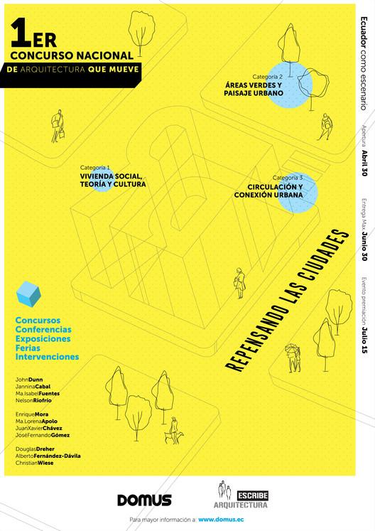I Concurso Nacional de Arquitectura que mueve