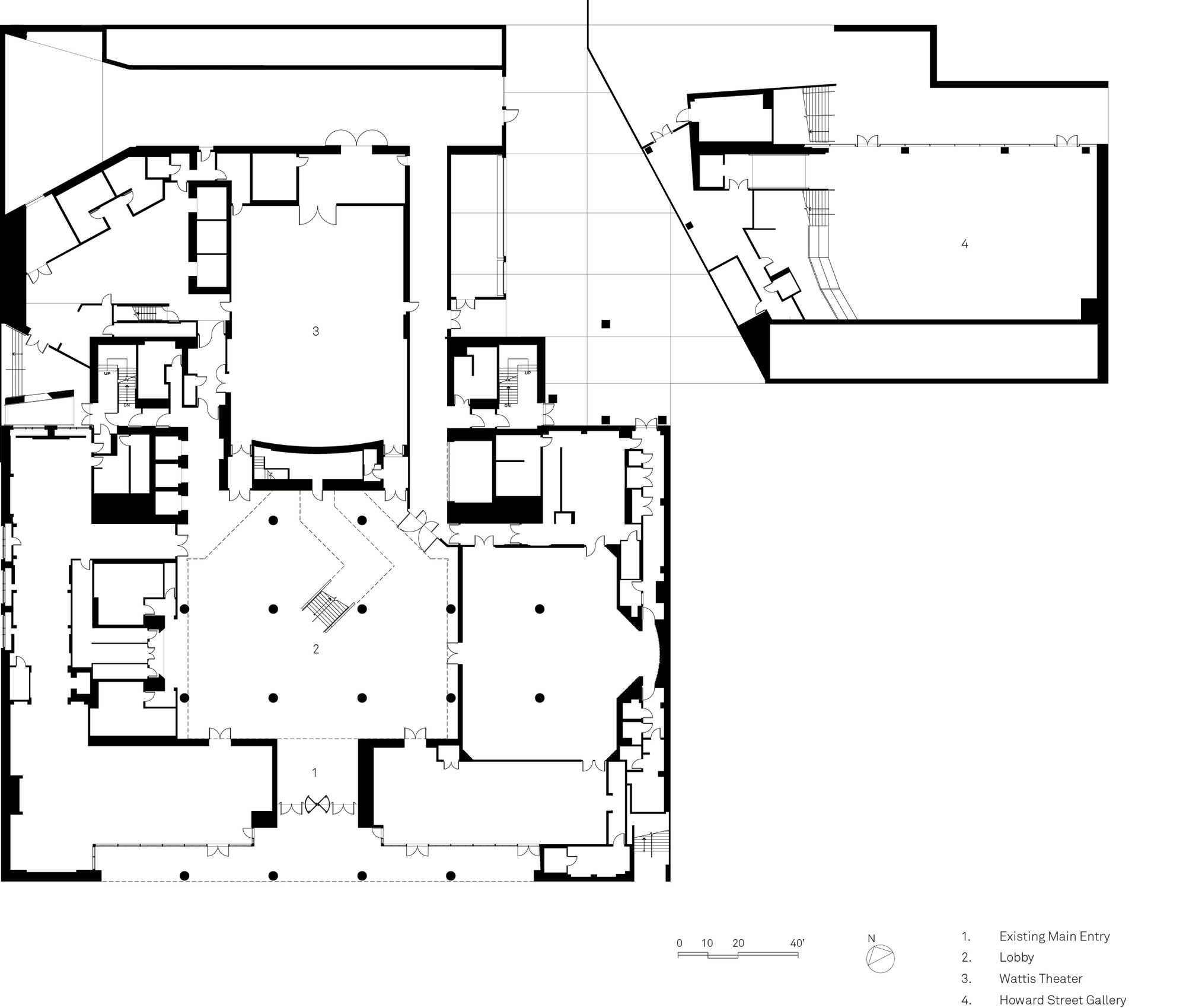 Split Floor House Plans Gallery Of Sfmoma Expansion Sn 248 Hetta 26