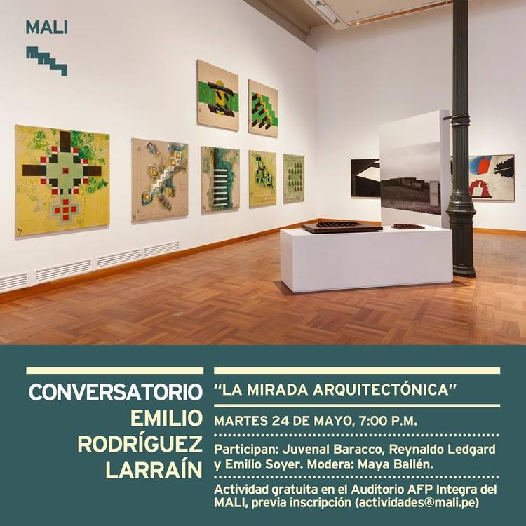 """Conversatorio: """"La mirada arquitectónica"""" a la obra de Emilio Rodríguez Larraín / MALI, Cortesía de MALI"""