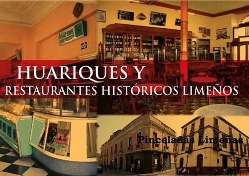 """Recorrido """"Huariques y restaurantes históricos limeños"""" / Lima, Cortesía de Pinceladas Limeñas"""