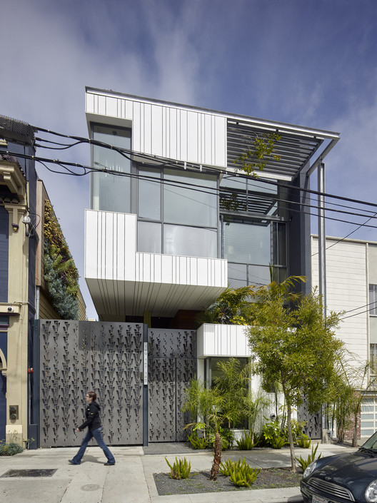 Albion Street Residences / Kennerly Architecture & Planning , © Bruce Damonte