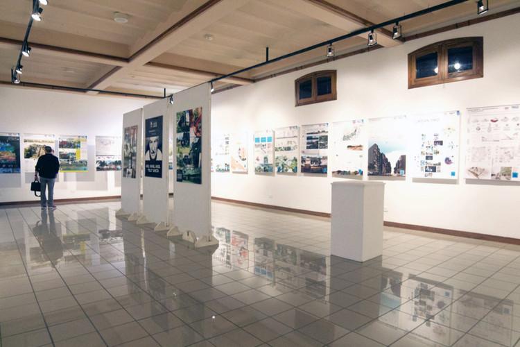 Sala muestra. Image Cortesía de Danae Santibáñez
