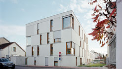 Dijon Concrete Housings  / Ateliers O-S Architectes