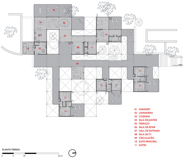 Casa Principal - Planta