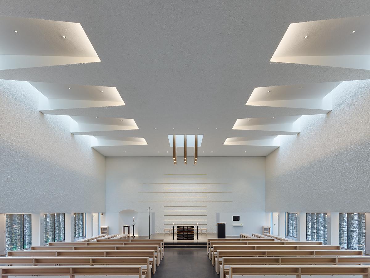 Gallery of st paulus church klumpp klumpp architekten for Modern church youth building design