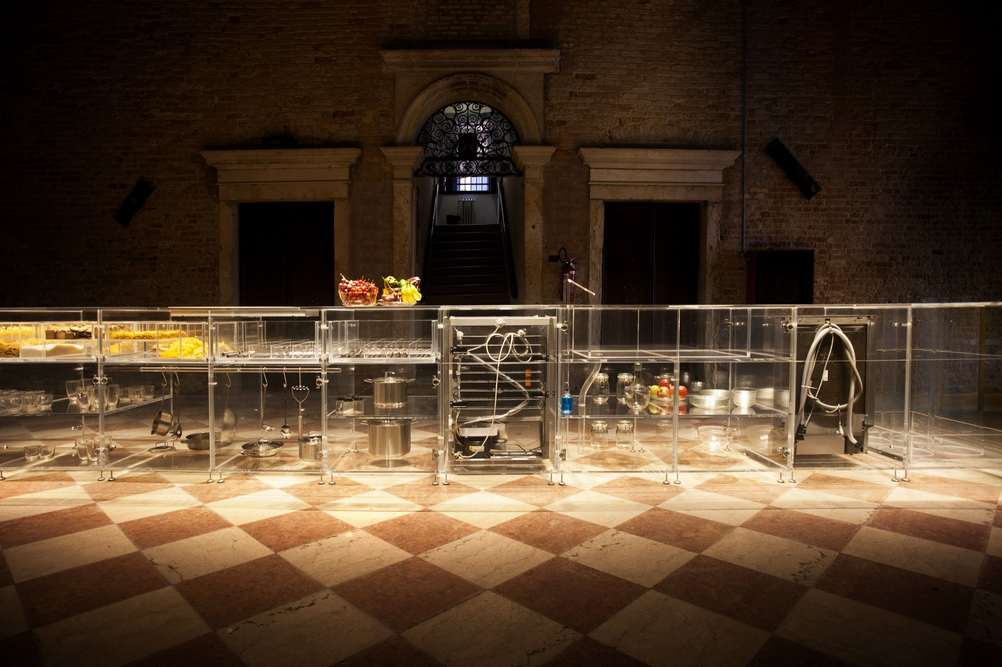 Infinity Kitchen Designs Mvrdv Designs A Kitchen With Complete Transparency Archdaily