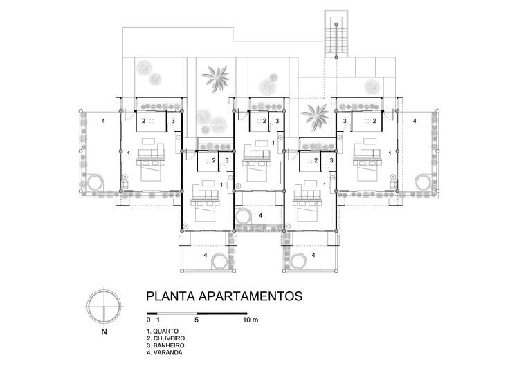 Apartamentos - Planta
