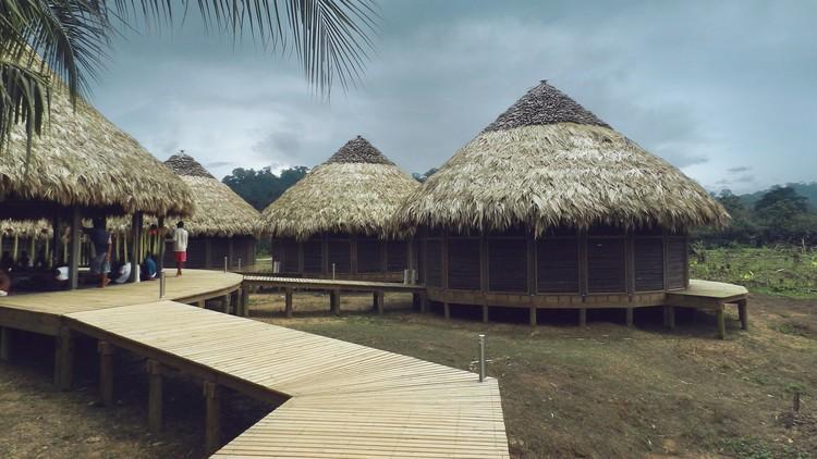 Kipará Té Etnoaldea Turística Embera / Juan Pablo Dorado + Oficina Suramericana de Arquitectura. Image © Tomas Botero