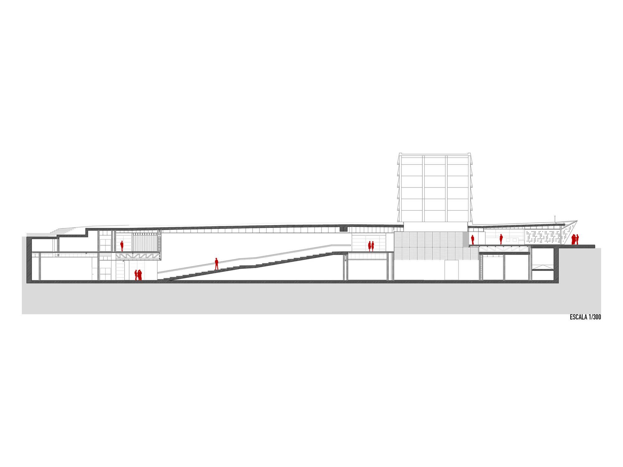 Gallery Of Centre Pompidou M 225 Laga Javier P 233 Rez De La