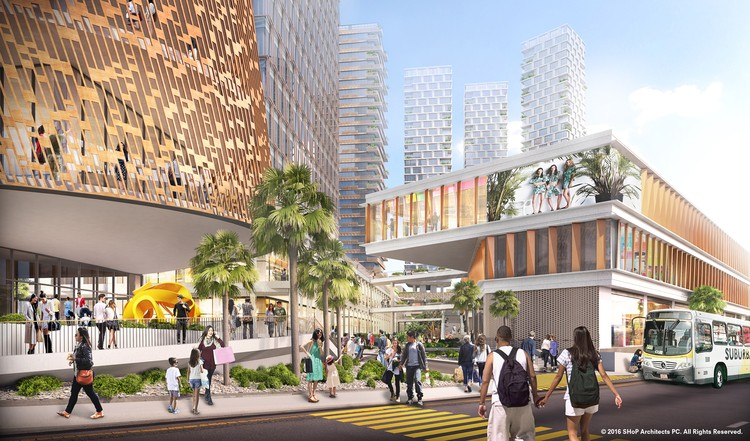 SHoP Breaks Ground on Mixed-Use Development in Tijuana, Courtesy of SHoP Architects
