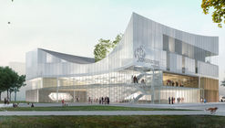 Tetrarc Architects Unveils Design Proposal for the Rennes Conservatory