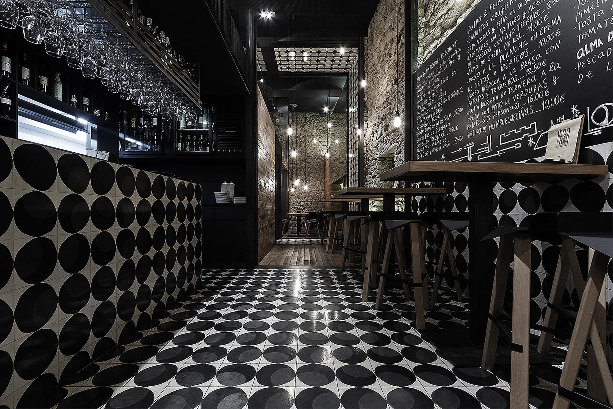 Gallery of alma negra wine bar sa estudio
