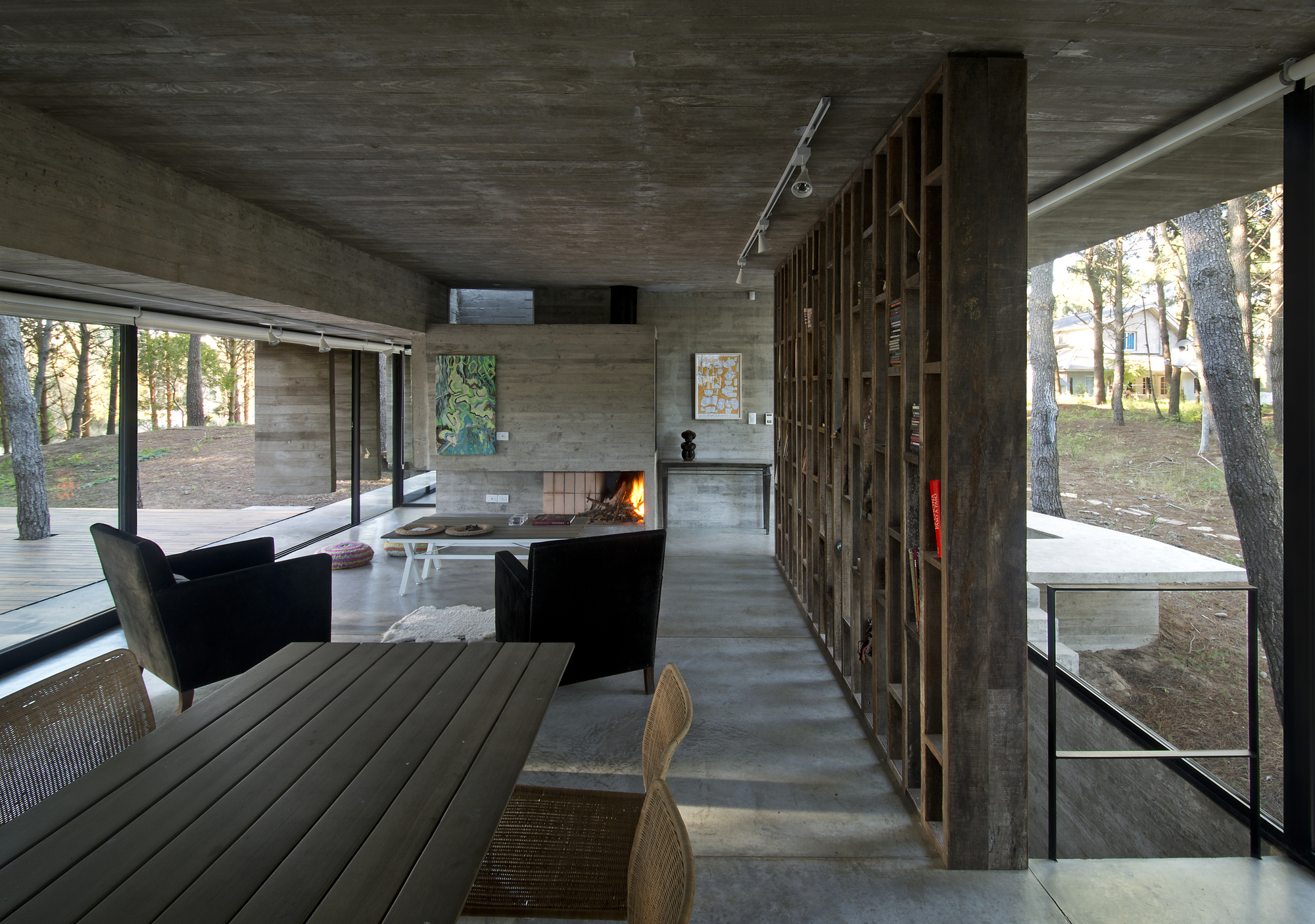 Gallery of valeria house bak arquitectos 17 - Interior for small house ...