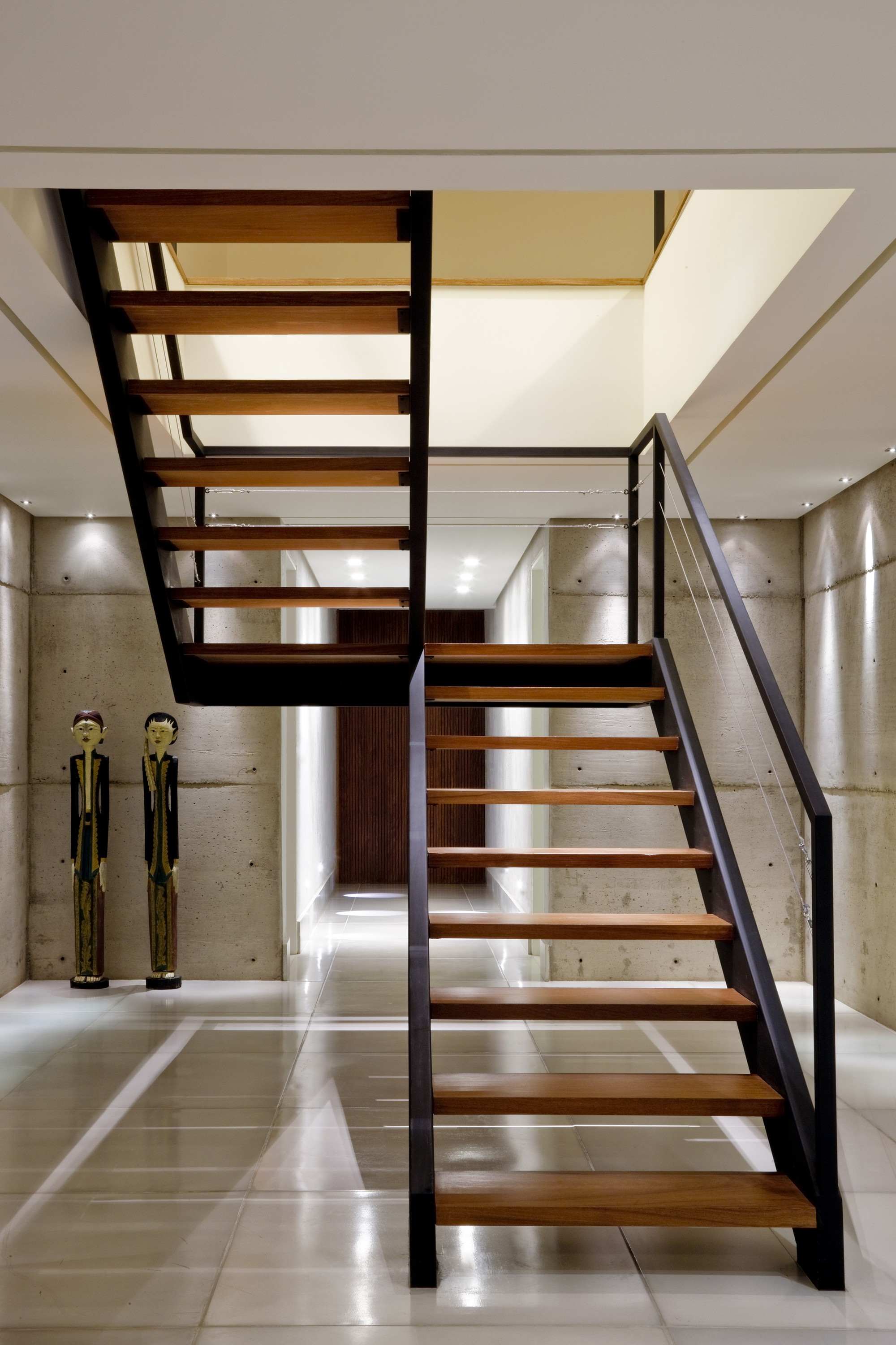 27 stair design ideas to organize your loft escalera escaleras metalicas y escaleras interiores for Escaleras metalicas homecenter