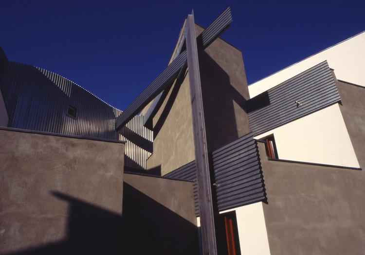 Heinz-Galinski School Berlin, Germany, 1995. Image © Zvi Hecker