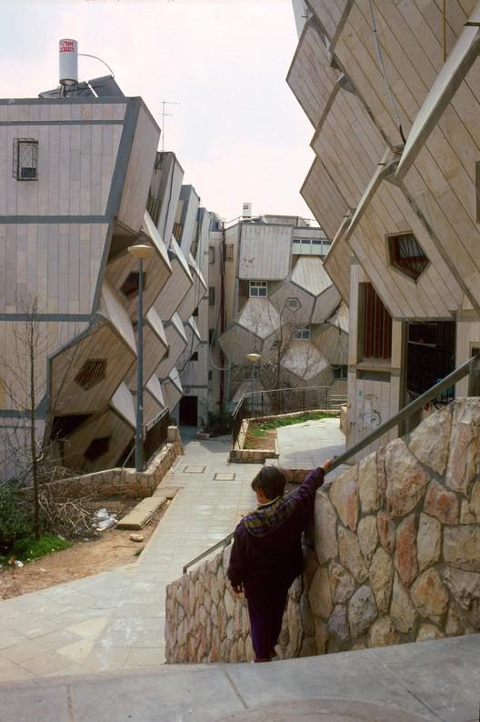 Ramot Polin Housing, Jerusalem, Israel, 1975. Image © Rudolf Klein