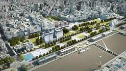 El proyecto que podría reconfigurar Puerto Madero y Retiro: Paseo del Bajo