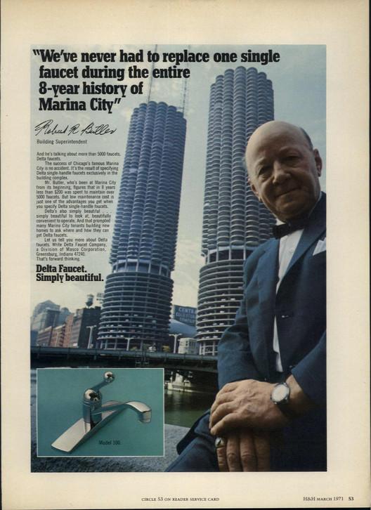 Conoce este archivo digital con cientos de revistas de arquitectura, House+Home / Marzo, 1971. Página 53. Imagen vía Colossus