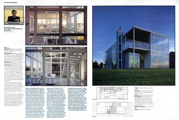 Progressive Architecture, June 1987 Page 58-59. Image via Colossus