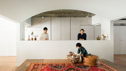 Team Living House / Masatoshi Hirai Architects Atelier