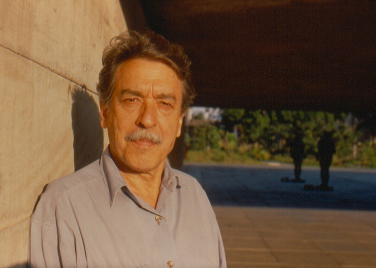 Paulo Mendes da Rocha, winner of Lifetime Achievement Award at the 2016 Venice Biennale. Image © Lito Mendes da Rocha