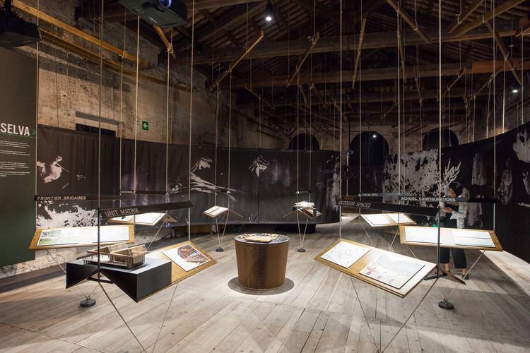Our Amazon Frontline / Pabellón de Perú en la Bienal de Venecia 2016. Image Cortesía de Barclay&Crousse