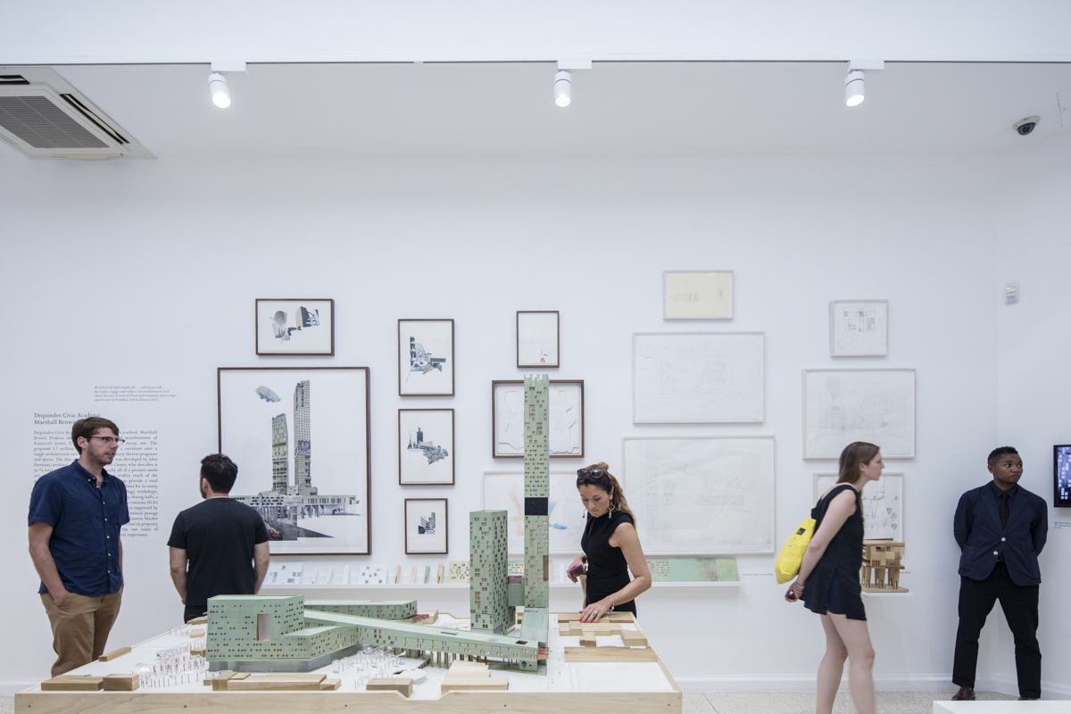 The architectural imagination inside the us pavilion for for Biennale venezia 2016