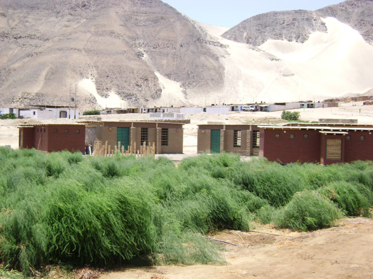 Escuela Agrícola en Huarmey, Perú. Image Cortesía de TERRA Award