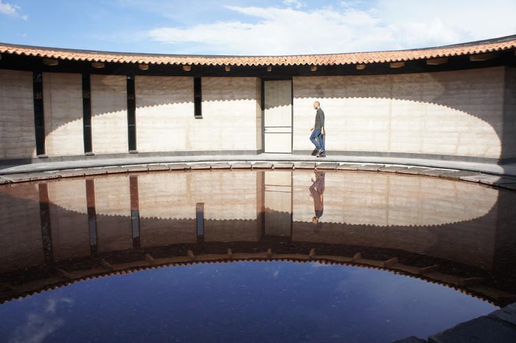 Casa Estudio Sabinos en Querétaro, Mexico . Image Cortesía de TERRA Award