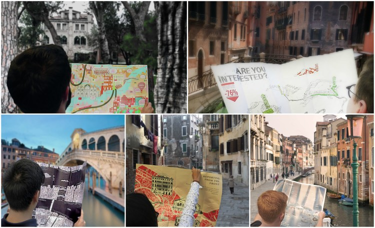 "Finding ""The Front"" in Venice: These Maps Reframe the Biennale Along Socio-Economic Lines"