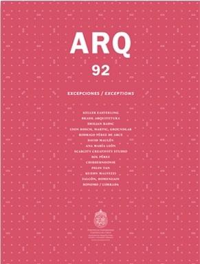 Revista ARQ 92: Excepciones