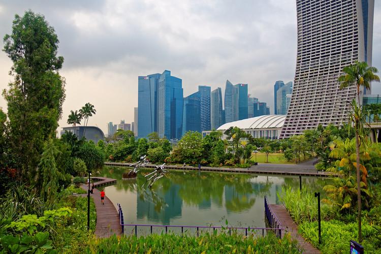 5 ciudades que destacan por sus planes de innovación urbana, Singapur. Image © DOT finger, vía Flickr