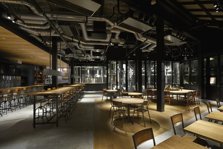 Spring valley brewery tokyo general design archdaily for Brewery layout software