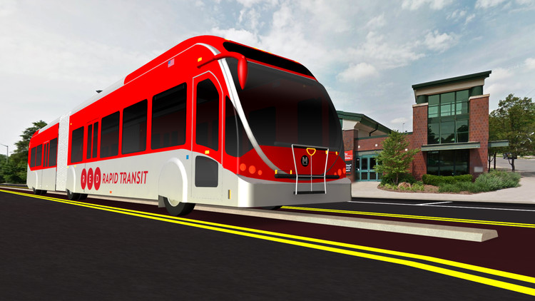 Red Line Bus Rapid Transit Station Design Competition