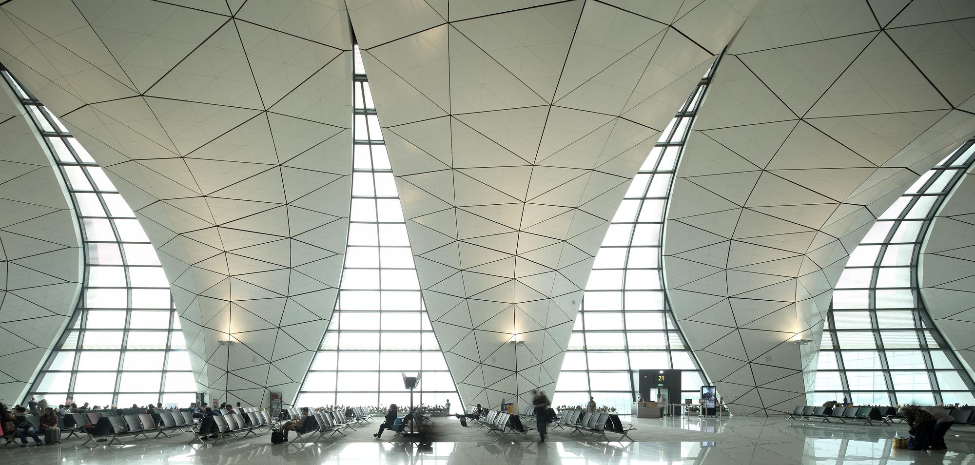 Shenyang Taoxian International Airport Terminal 3 Cnadri