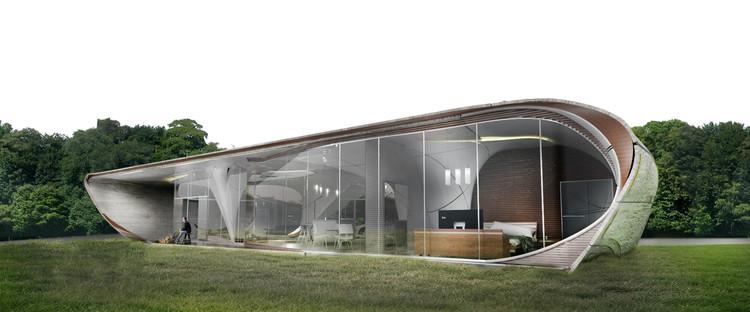 WATG presenta su diseño de casa impresa en 3D, Cortesía de WATG