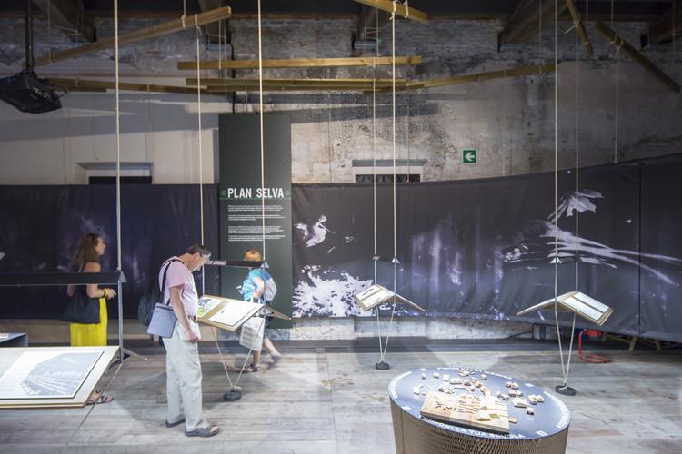 Our Amazon Frontline / Pabellón de Perú en la Bienal de Venecia 2016. Image © Laurian Ghinitoiu