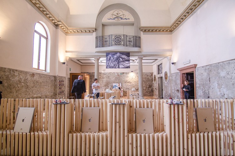 Prospect North: Inside Scotland's Pavilion at the 2016 Venice Biennale , Courtesy of Dualchas Architects