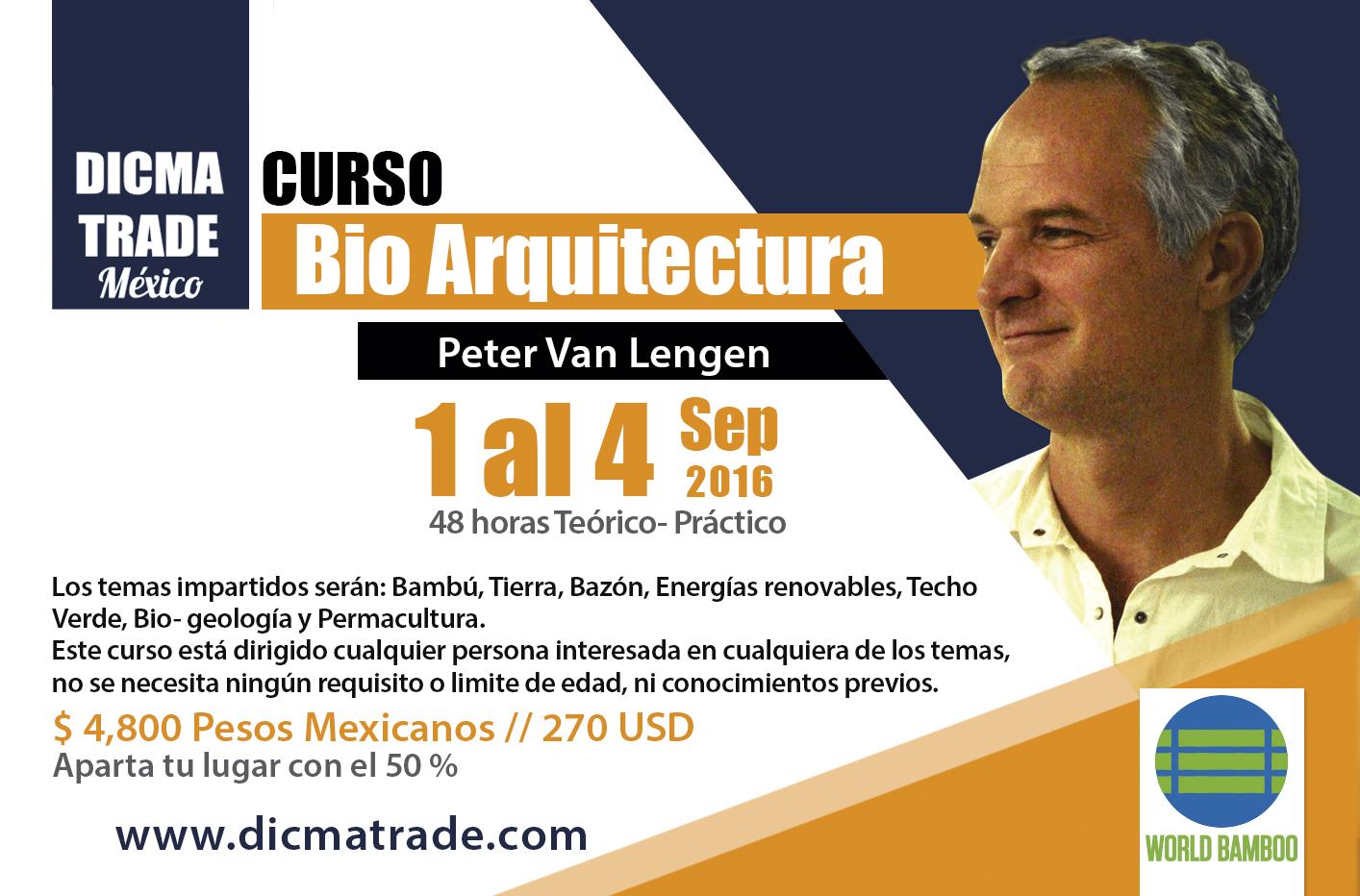 Curso De Bio Arquitectura Peter Van Lengen Archdaily