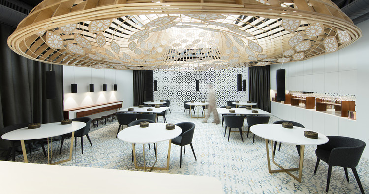 Noor Restaurant  / GG Architects, © Alfonso Calza