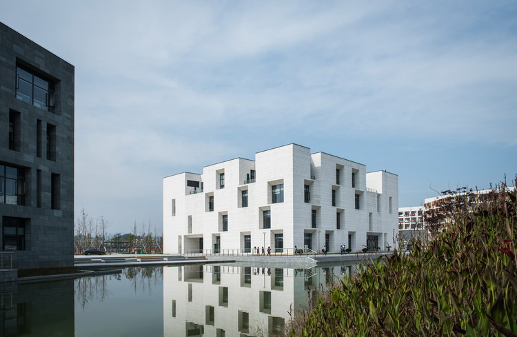 The Elegance of the White, the Charm of the Cube / STI Studio , © Chunliu Yu