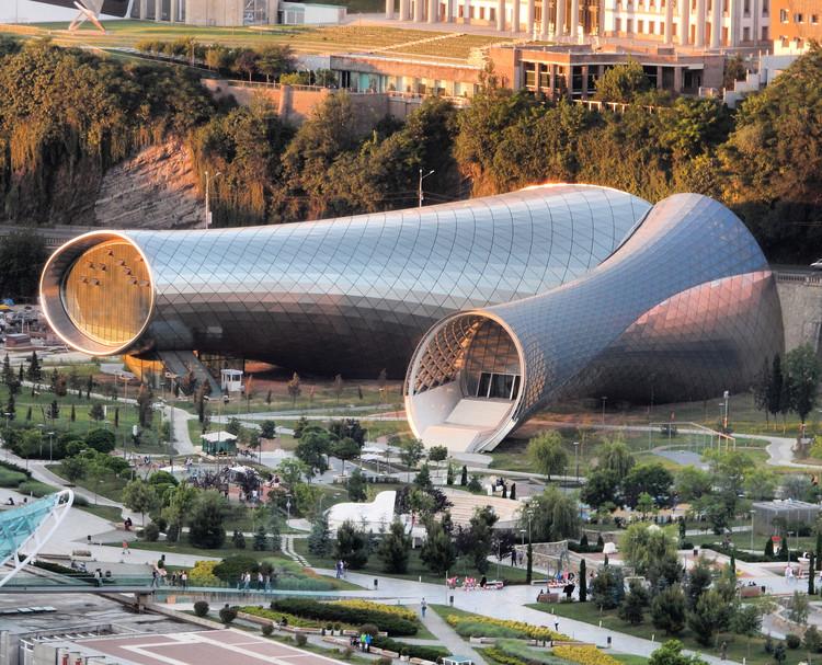 Teatro de música y salón de exposiciones  / Massimiliano & Doriana Fuksas, Cortesía de Massimiliano & Doriana Fuksas