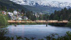 Tintra Footbridge / Rintala Eggertsson Architects