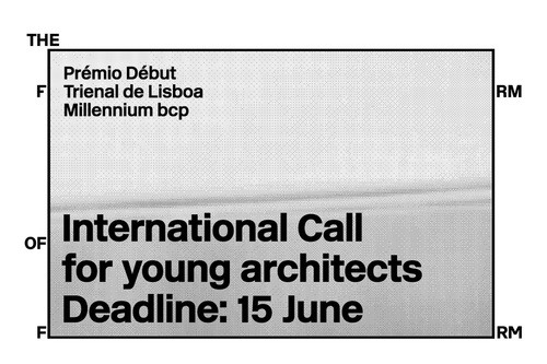 Open Call: Début Award for Young Architects