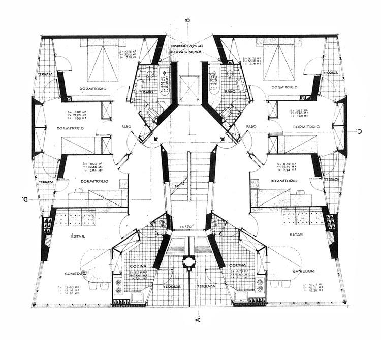 vía Coderch: La Barceloneta. Colegio de Arquitectos de Cataluña, Barcelona, 1996