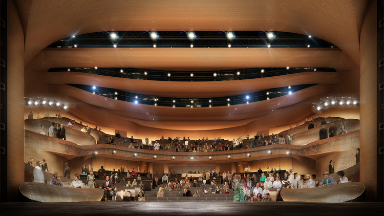 Trahan Architects to Transform Atlanta's Alliance Theatre, Courtesy of Trahan Architects
