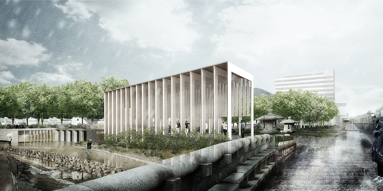 Studio MADe Wins Competition for Arts Center in South Korea, Courtesy of Studio MADe