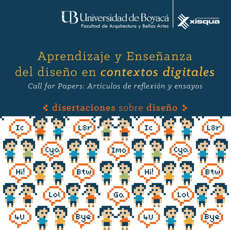 Call for papers: Aprendizaje y Enseñanza del Diseño en Contextos Digitales
