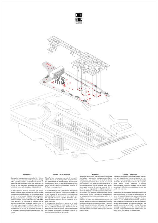 FBBNC E+A / Lámina 02. Image Cortesía de Arquitectura Caliente