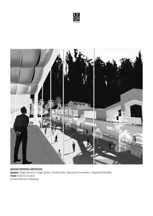 Grupo IX / Lámina 01. Image Cortesía de Arquitectura Caliente